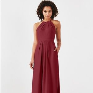 Weddington Way Red Bridesmaid Dress